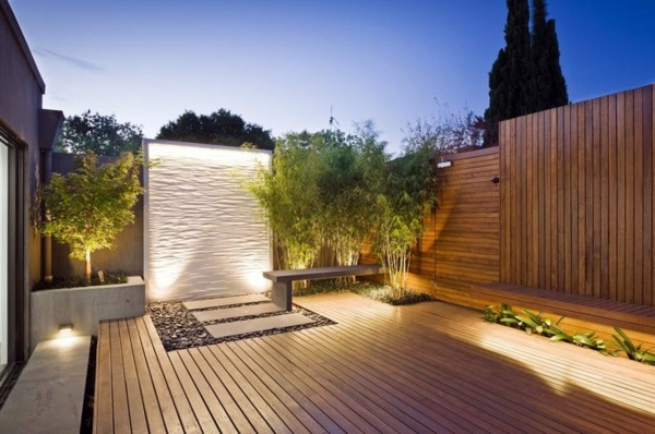 Gartengestaltung - Modern terrace design - 100 images and creative ideas