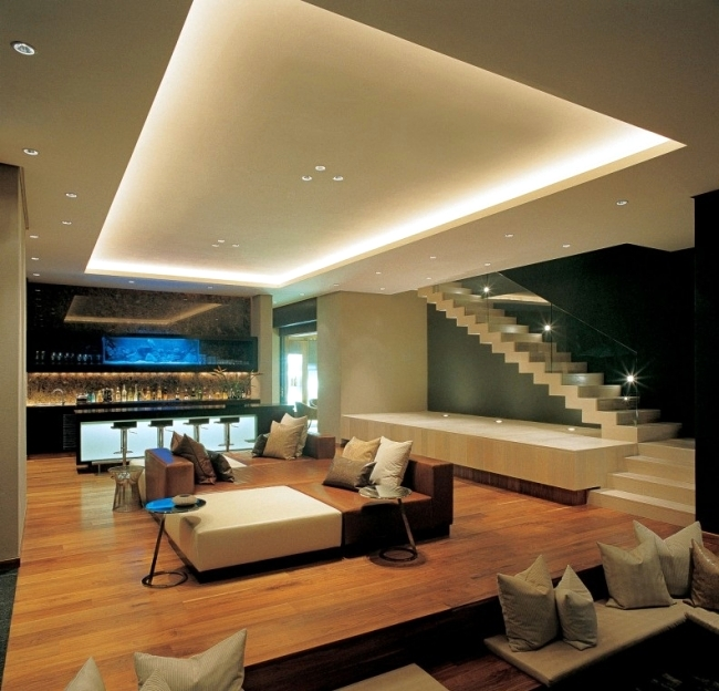 33 Ideas For Beautiful Ceiling And Led Lighting Interior Design Ideas Ofdesign
