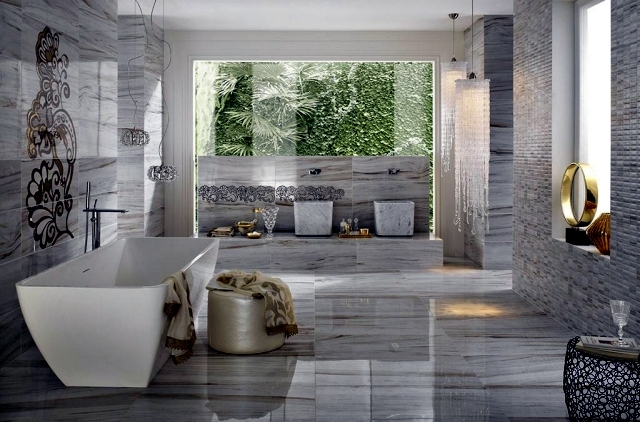 Wall And Floor Tiles Modern And Luxurious Facilities To