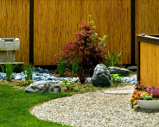 japanese bamboo garden design 34 ideas for privacy in the garden with a decorative
