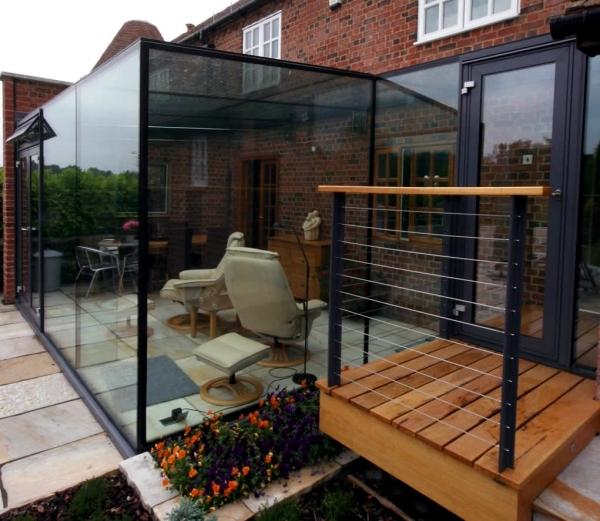 ideas for glazed patio 20 inspiring