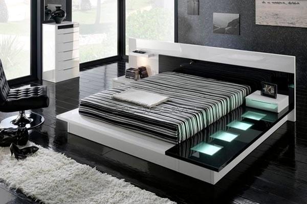 15 modern bedroom designs in black and