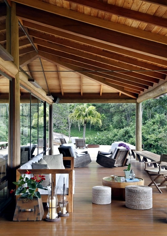 24 fabulous ideas for patio roof made of wood in the ... on Roof For Patio Ideas id=71300