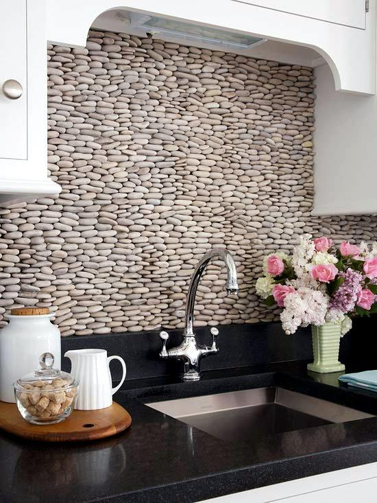 30 Ideas For Kitchen Design Back Wall Tiles Glass Or Stone Interior Design Ideas Ofdesign