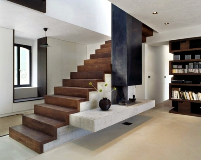 99 Modern Staircases Designs – Absolute Eye Catcher In The Living   Interior Steps Design For Hall   Entrance   Lobby Design   Realistic   Beautiful   Straight