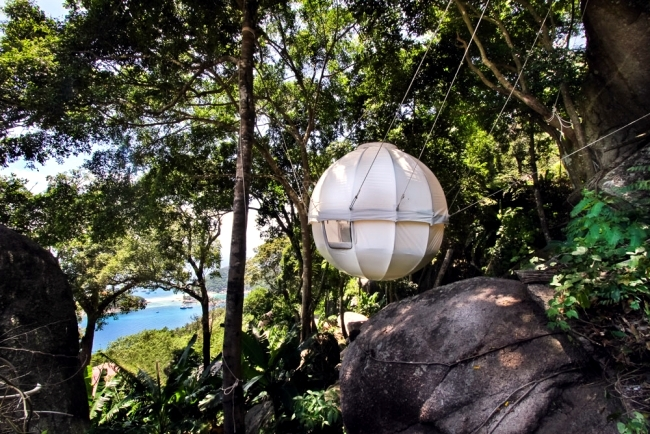 Cocoon Tree A Luxury Tree House Tent Hanging Bed