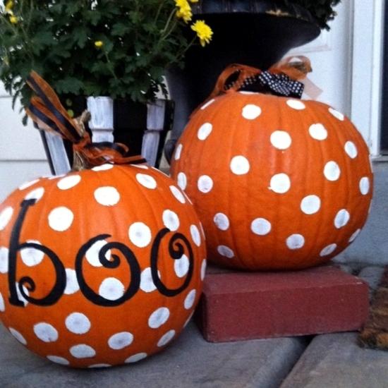 Easily Embellish Pumpkins With Ribbon
