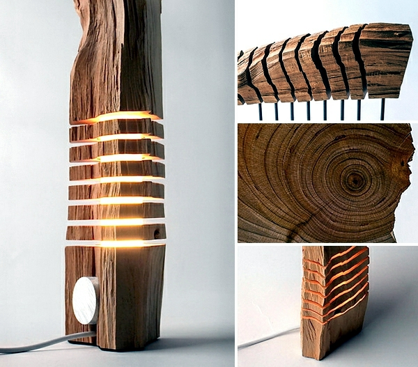 Decoration Made Of Wood Rustic Sculptures Reveal The
