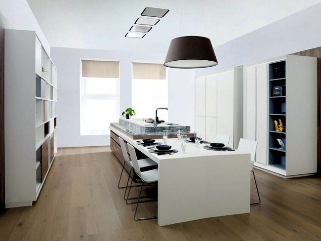 Modern Kitchen Furniture By Gamadeco High Quality From