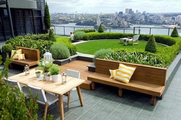 Small urban garden design - garden design ideas for modern ... on Small Urban Patio Ideas id=79824