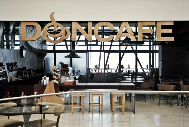 Unique Interior Design Of The Cafe Cafe Don Of Innarch