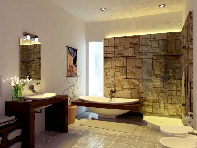 without bathroom tiles ideas for free