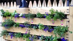 Wood Euro Pallets Furniture For Garden And Balcony Ideas