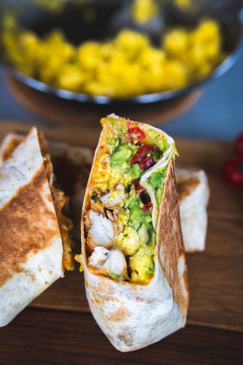 Frühstück Burrito Frühstücksideen Kochen Foodblog