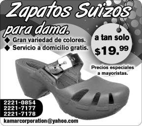 kamar store zapatos suizos