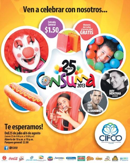 Consuma 2013 CIFCO El Salvador