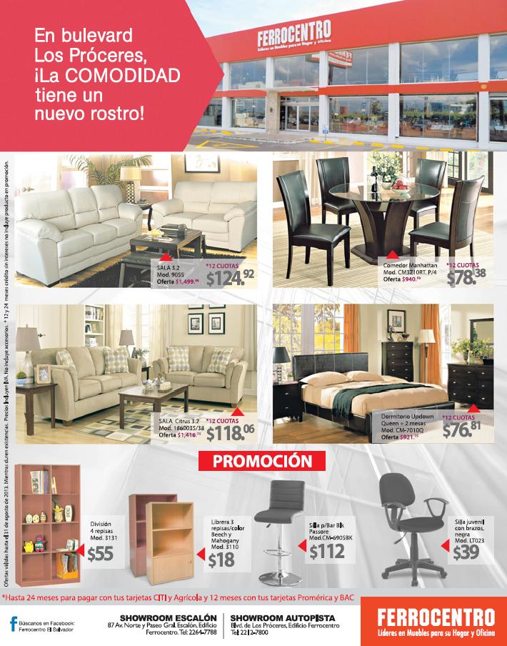 ferrocentro ofertas muebles para oficina y hogar