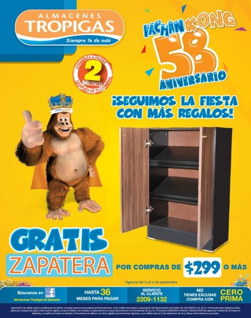 Almacenes tropigas El Salvador promociones pachan Kong - 13sep13