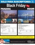 Black Friday DEALS Miami and Panama - 30sep13