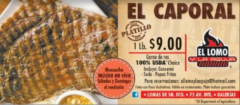 El caporal mucha carne musica en vivo - 30sep13