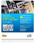 LCD 39 pulgadas en oferta con BANCO CITI - 25sep13
