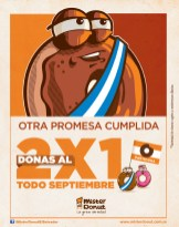Mister Donut El Salvador TODO Septiembre donas al 2x1