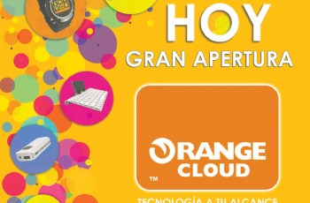 ORANGE Cloud tecnologia a tu alcance hoy apertura - 20sep13