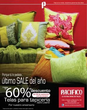 PACIFICO lo ultimo en telas SALE discount - 30sep13