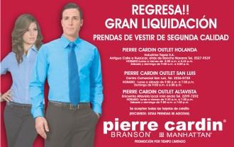 Pierre Cardin liquidacion - 20sep13