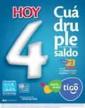 Recargas TIGO hoy cuadruple saldo - 30sep13