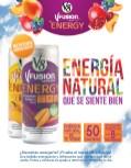 nueva bebida energizante V FUSION