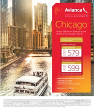 AVIANCA chicago travel from el salvador - 16oct13