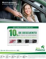 Banco Promerica descuentos en gasolineras - 28oct13
