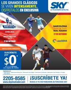 Barcelona vs Real Madrid 27 de Octubre