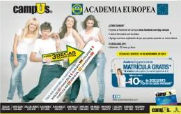 CAMPUS y academia europea CUPON de descuento - 31oct13