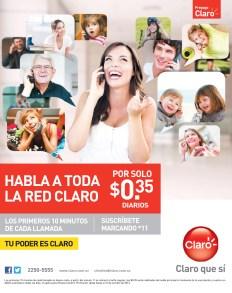 CLARO promociones habla a toda la red - 02oct13