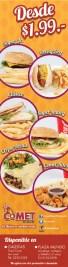 COMET Dinner el salvador promociones - 15oct13