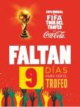 COPA Mundial de la FIFA tour del trofeo coca cola El Salvador 2013