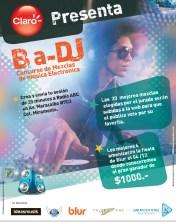 Concurso y promociones CLARO Ba DJ mezclas de musica electronica