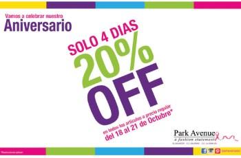 Descuentos en Park Avenue El Salvador a fashion statment - 18oct13
