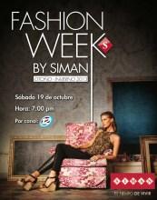 Fashion week by SIMAN el salvador y canal 12
