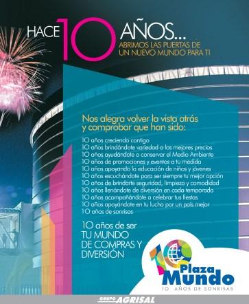 Festival aniversario PLAZA MUNDO