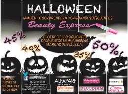Halloween Beauty express discounts - 31oct13