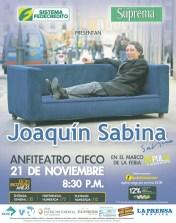 Joquin Sabina el salvador 2013 feria IMPULSA