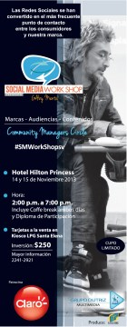 Las Redes Sociales con GABY MENTA el savador 2013