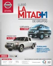 Nissan FRONTIER savings GRUPO Q - 14oct13