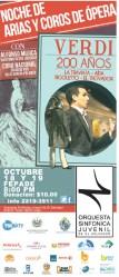 Noche de arias y coros de opera VERDI