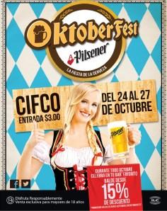 OKTOBERFEST pilsener descuento CIFCO octubre 2013