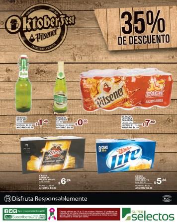 Oktoberfest Super Selectos descuentos - 15oct13