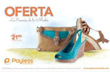 PAYLESS shoes source ofertas la esencia de la moda - 25oct13